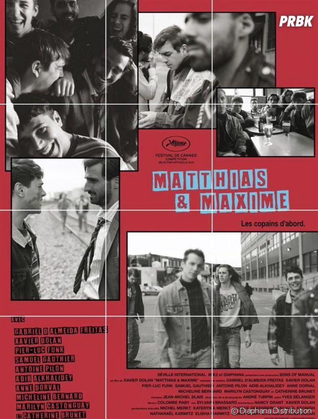 L'affiche du film Matthias & Maxime de et avec Xavier Dolan