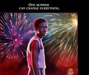 Stranger Things saison 3 : l'affiche de Lucas joué par Caleb McLaughlin