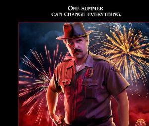Stranger Things saison 3 : l'affiche de Hopper joué par David Harbour