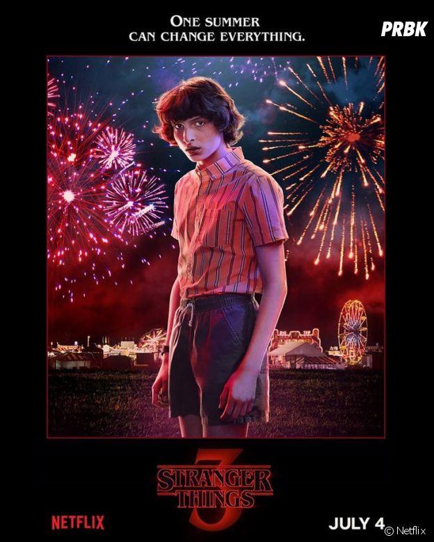 Stranger Things saison 3 : l'affiche de Mike joué par Finn Wolfhard