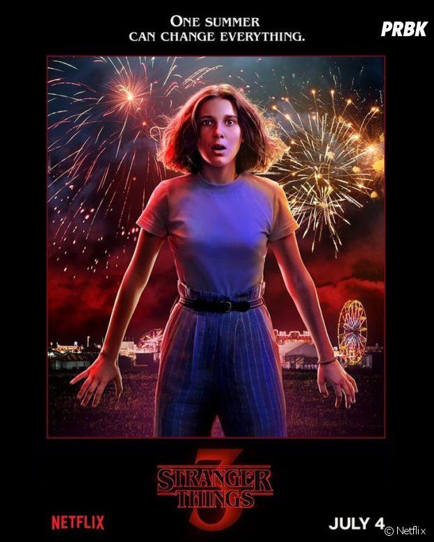 Stranger Things saison 3 : l'affiche d'Eleven jouée par Millie Bobby Brown