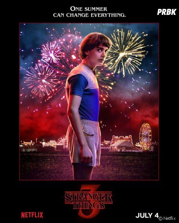 Stranger Things saison 3 : l'affiche de Will joué par Noah Schnapp