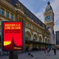 """Quand Disney transforme la gare de Lyon en """"gare du Lion"""" sur l'air de L'Histoire de la Vie 🦁🎵"""
