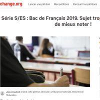 """Bac 2019 : une pétition contre le bac français, jugé """"trop difficile"""""""