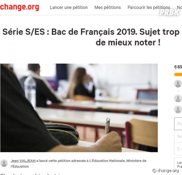"""Bac 2018 : une pétition contre le bac français, jugée """"trop difficile"""""""