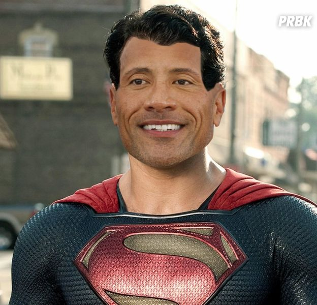 Superman bientôt noir ? Dwayne Johnson y croit