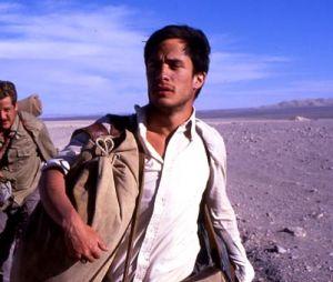 Rodrigo de la Serna et Gael García Bernal dans le film Carnets de voyage en 2004