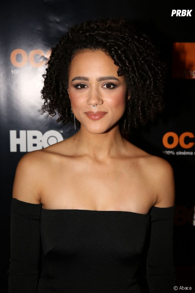 Nathalie Emmanuel alias Missandei dans Game of Thrones