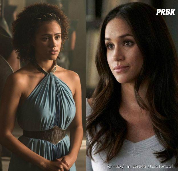 """Nathalie Emmanuel (Game of Thrones) confondue avec Meghan Markle : """"J'entends tout le temps que je lui ressemble"""""""