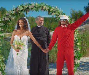 """Lorenzo et Shy'm se marient dans le clip """"Nous Deux""""... et ça part en catastrophe"""