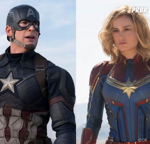 Brie Larson (Captain Marvel) et Chris Evans (Captain America) dans Star Wars ?