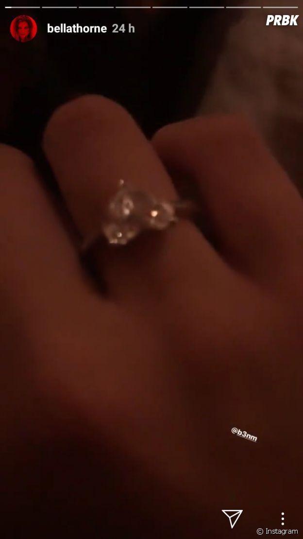 Bella Thorne fiancée ? La bague qui sème le doute sur Instagram Stories