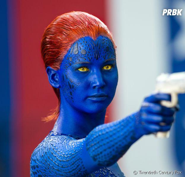Jennifer Lawrence en Mystique dans X-Men : Days of Future Past