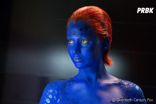 Jennifer Lawrence en Mystique dans X-Men : Le Commencement