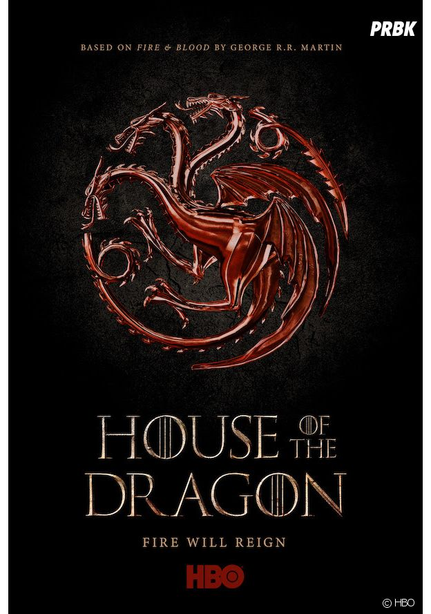 House of the Dragon : l'affiche du spin-off de Game of Thrones consacré aux Targaryen