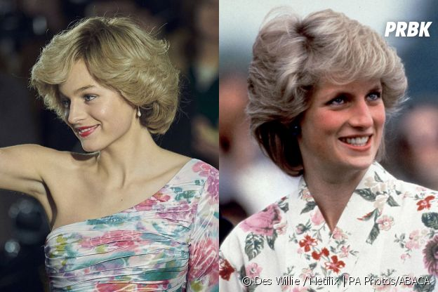 The Crown saison 4 : Emma Corrin joue Diana Spencer
