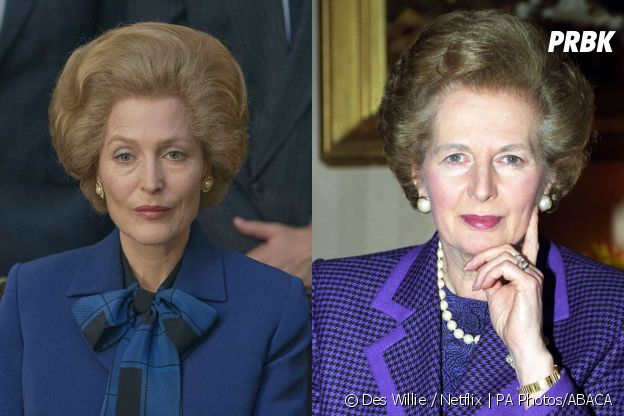 The Crown saison 4 : Gillian Anderson joue Margaret Thatcher