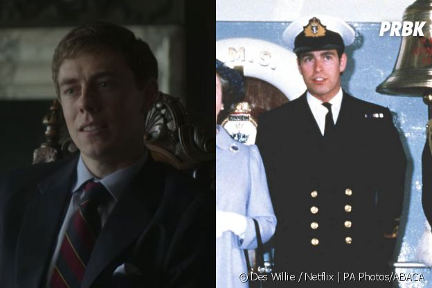 The Crown saison 4 :  Tom Byrne joue le Prince Andrew