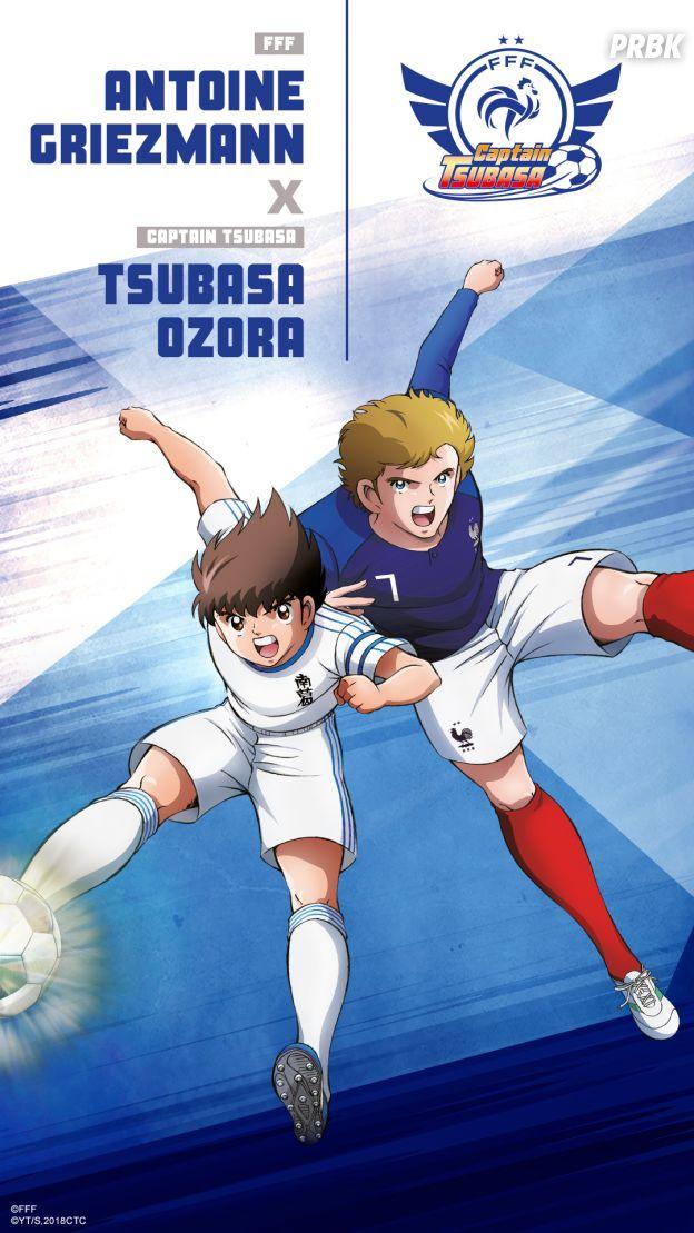 Captain Tsubasa s'associe à l'Equipe de France : Antoine Griezmann