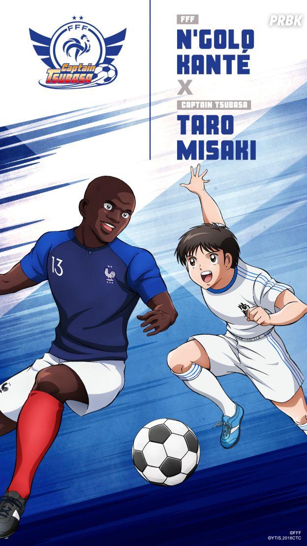 Captain Tsubasa s'associe à l'Equipe de France : N'Golo Kanté