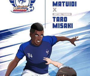 Captain Tsubasa s'associe à l'Equipe de France : Blaise Matuidi