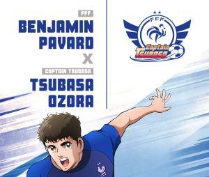 Captain Tsubasa s'associe à l'Equipe de France : Benjamin Pavard