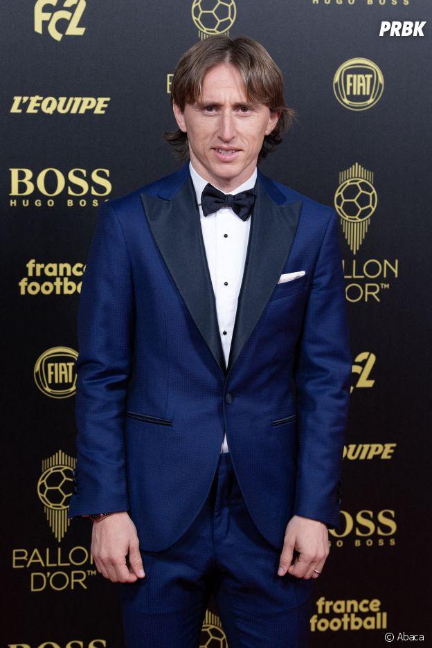Luka Modric à la cérémonie du Ballon d'Or 2019