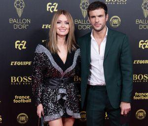 Caroline Receveur et Hugo Philip à la cérémonie du Ballon d'Or 2019