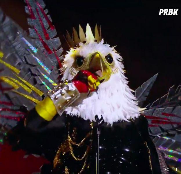 Mask Singer : Karl Zéro est-il caché derrière le masque de l'aigle ? Il répond en vidéo