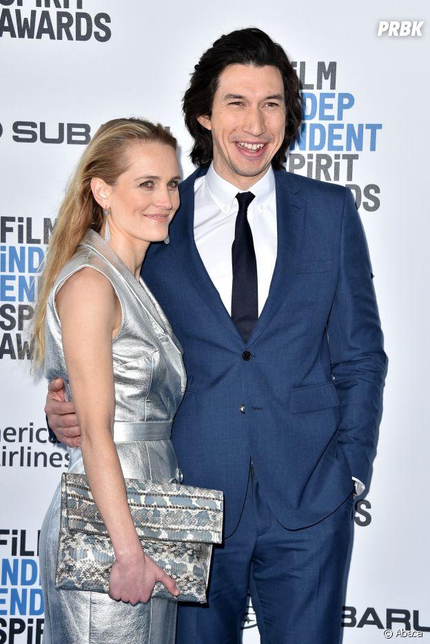 Adam Driver et sa femme Joanne Tucker