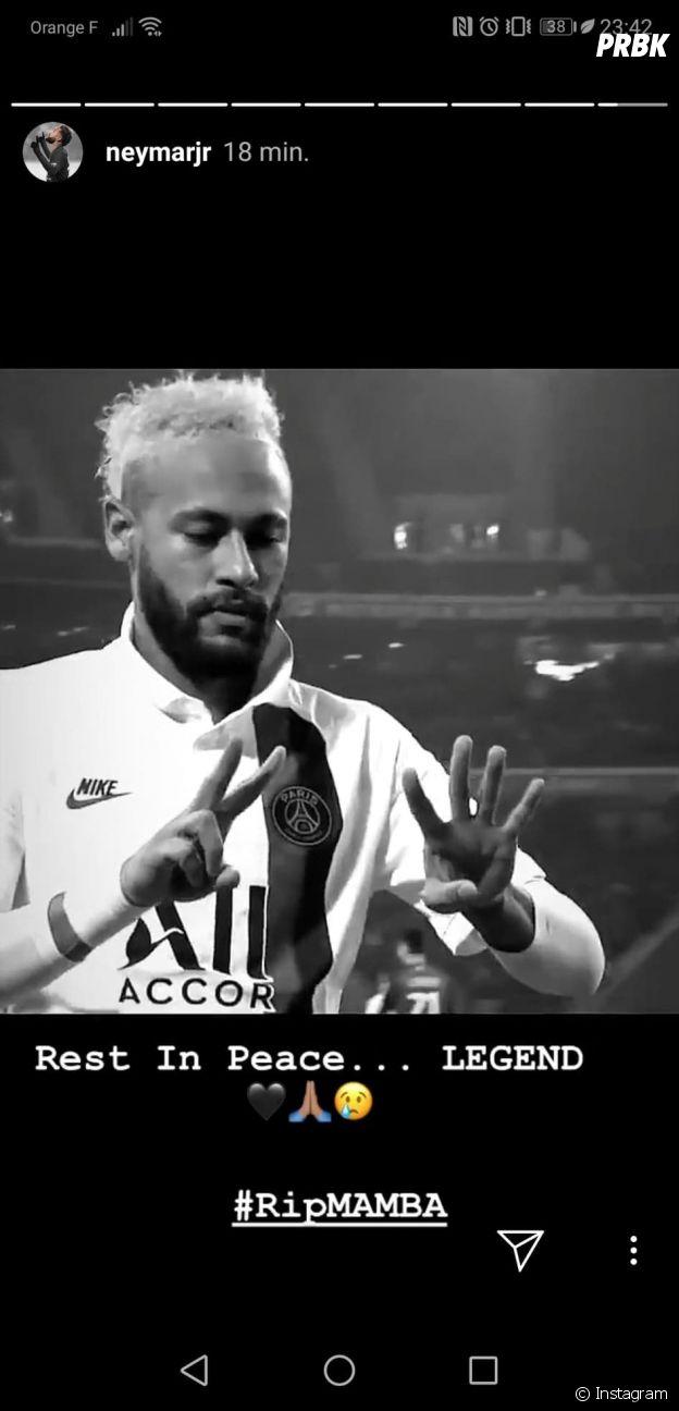 Mort de Kobe Bryant : Neymar, Kylie Jenner, Alicia Keys... pluie d'hommages