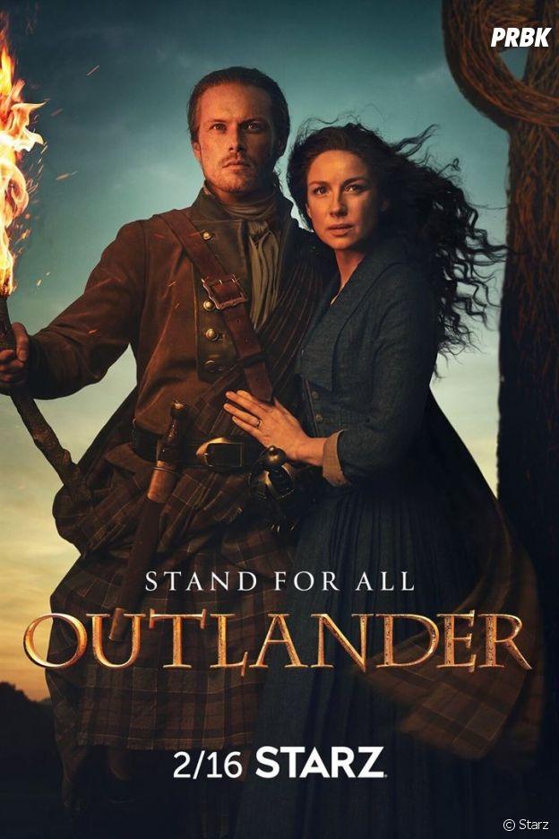 L'affiche de la saison 5 de Outlander