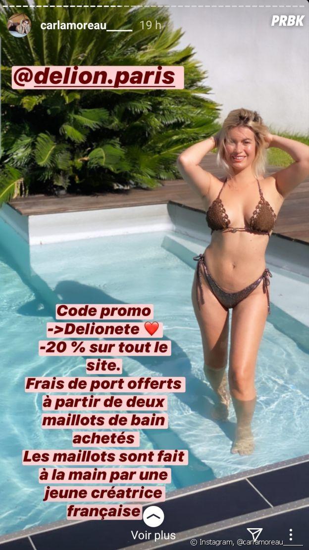 Carla Moreau (Les Marseillais aux Caraïbes) après la liposuccion : amincie grâe à la chirurgie esthétique, elle dévoile son nouveau corps en bikini