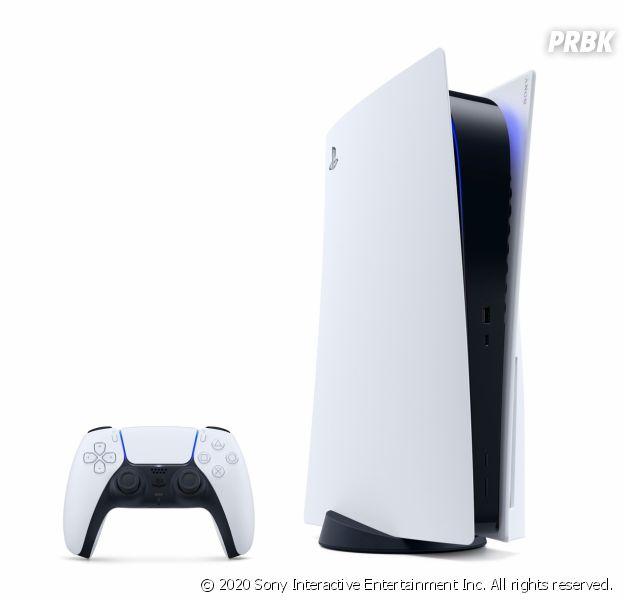 PS5 : Sony dévoile le design de sa nouvelle console