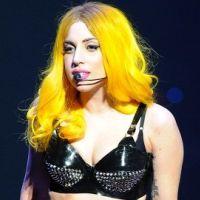 Lady Gaga ... elle porte ''de la soie ... sinon rien''