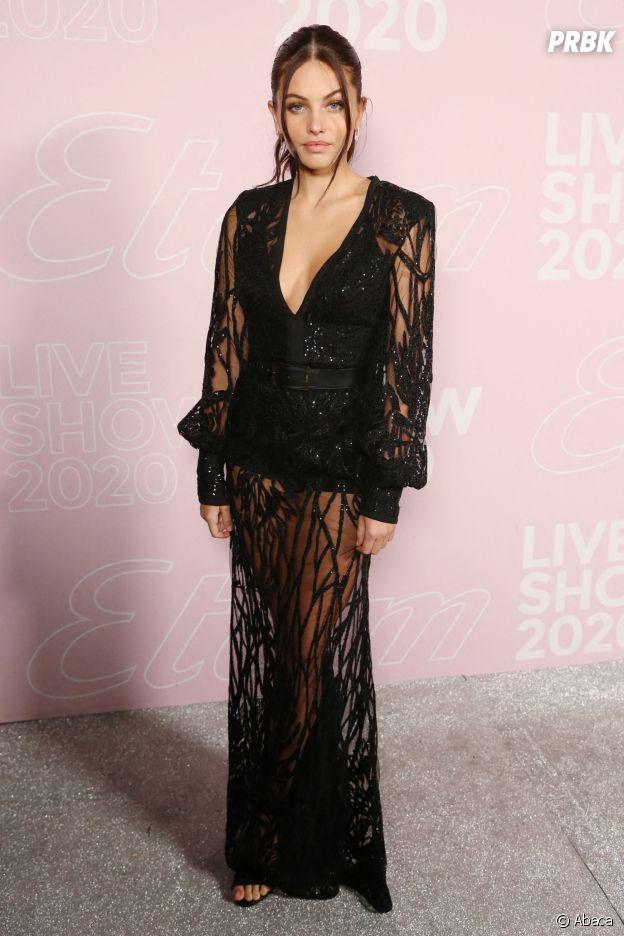 Thylane Blondeau au Etam Live Show 2020