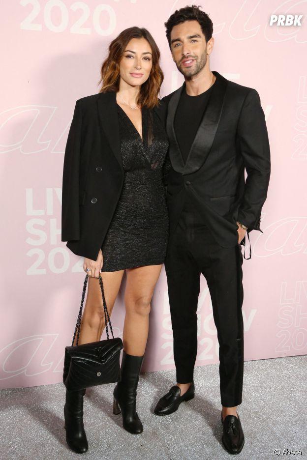 Rachel Legrain-Trapani et Valentin Leonard au Etam Live Show 2020