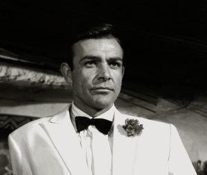 Sean Connery en James Bond dans Goldfinger