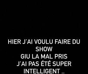 Illan (Les Marseillais VS Le reste du monde 5) s'excuse auprès de Giuseppa