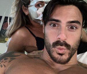 Benjamin Samat s'affiche avec Maddy Burciaga sur Instagram