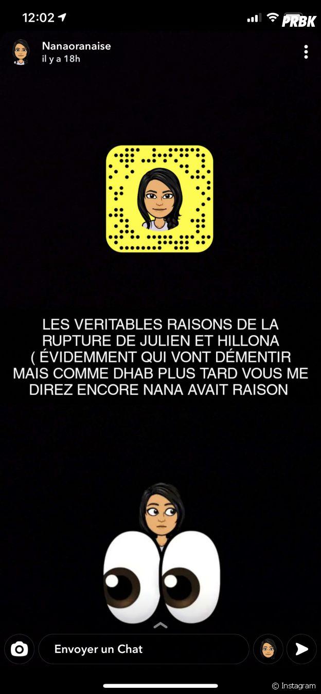 Julien Bert (Les Princes et les princesses de l'amour 4) violent envers Hilona ?