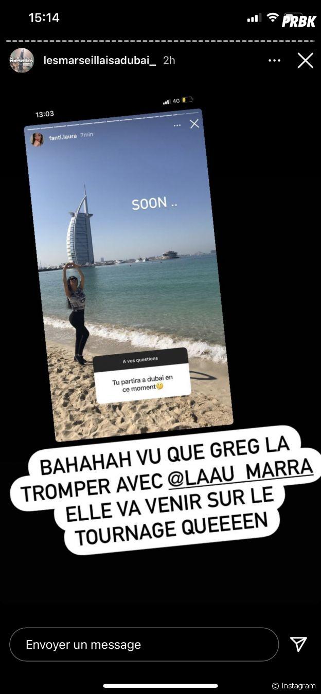 Les Marseillais à Dubaï : Greg Yega bientôt face à sa petite amie Laura après sa tromperie avec Laura ?
