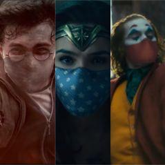 Harry Potter, Wonder Woman, le Joker... Face au covid, nos héros la jouent masqués pour une pub