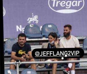 Julie (La Villa des Coeurs Brisés 6) et Benoît Paire ensemble à un tournoi de tennis en Argentine