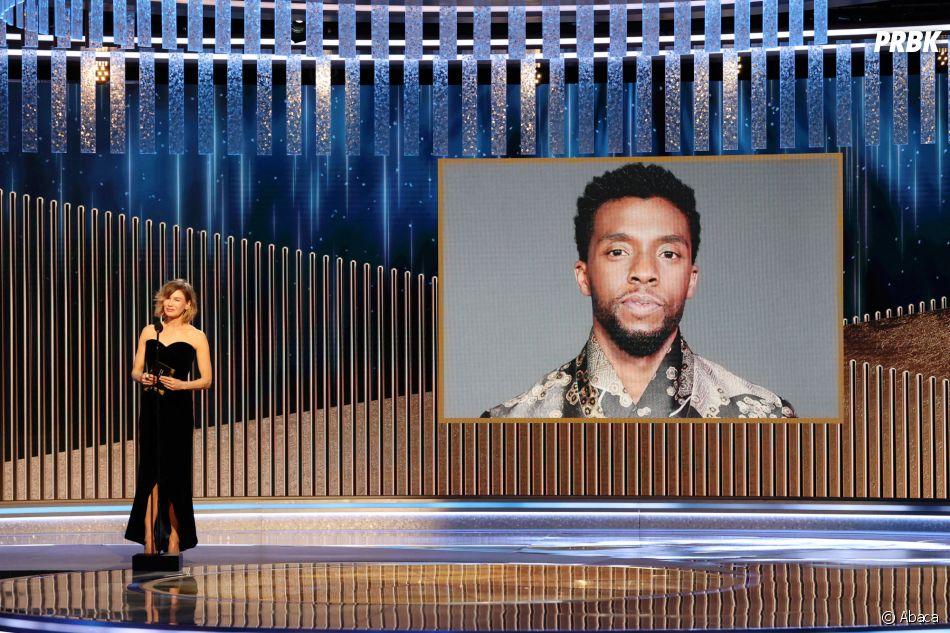 Golden Globes 2021 : Chadwick Boseman récompensé