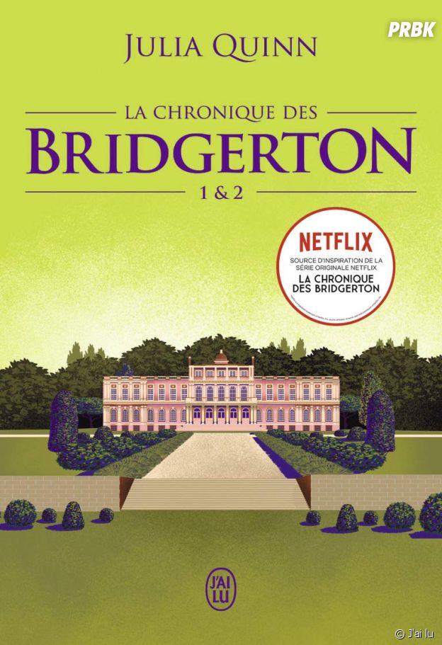 Les deux premiers tomes de la saga La Chronique des Bridgerton