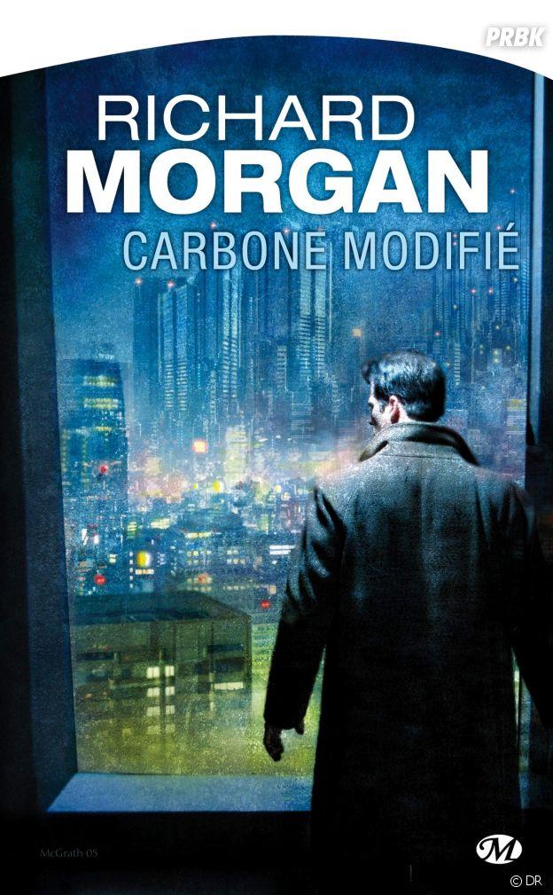 La couverture du livre Carbone modifié qui a inspiré la série Altered Carbon