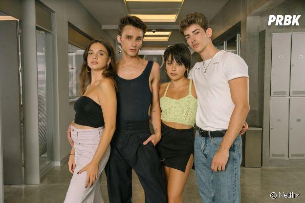 Elite : Manu Rios, Martina Cariddi, Pol Granch et Carla Díaz sont les nouveaux acteurs du casting de la saison 4 de la série Netflix