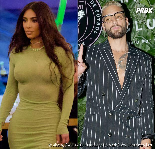 Kim Kardashian en couple avec le chanteur Maluma ? La folle rumeur depuis ces photos d'eux en soirée