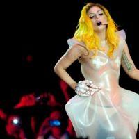 Lady Gaga ... Elle remercie ses fans d'être venus à son concert